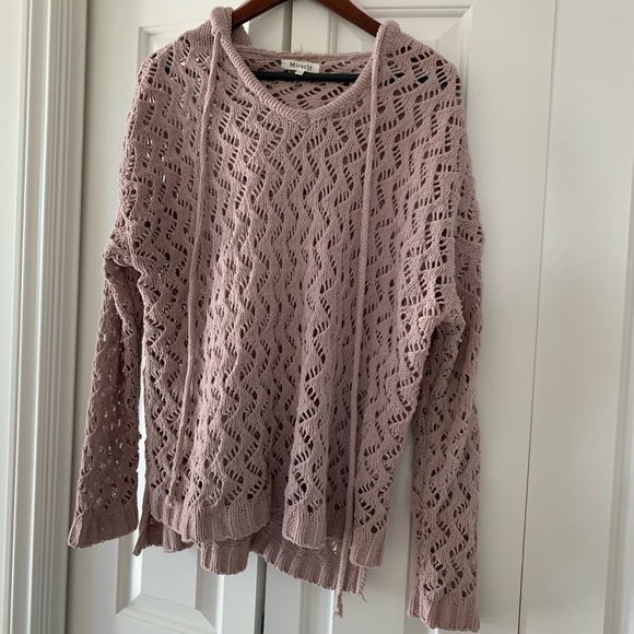 Miracle Tops - Open weave sweater